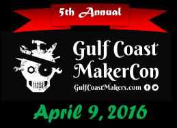 Gulf Coast MakerCon Robot Extravaganza! logo