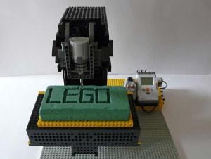 Lego mindstorms nxt CNC-Fräse