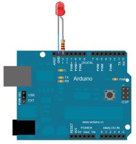 arduino blinky light