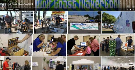 Click to see our Gulf Coast MakerCon 2014 Album!