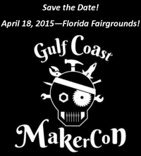 Gulf Coast MakerCon 2015 logo
