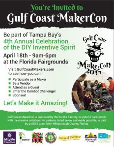 Gulf Coast MakerCon Promo