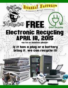 Free e-recycling