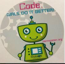 Harmon STEM sticker