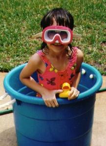 bucket diving