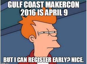 register early