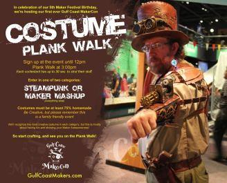 GCMC Costume Plank Walk