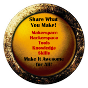Share what you do button